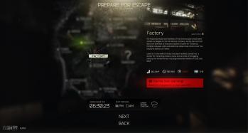 Escape from Tarkov EFT-Alpha Interface - Raid 2