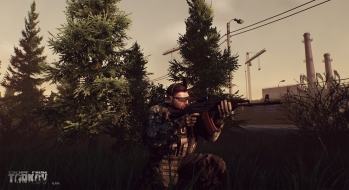 Escape from Tarkov EFT-Alpha Vicino all'ufficio a Customs 11