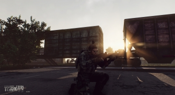 Escape from Tarkov EFT-Alpha Near the Сustoms office 18