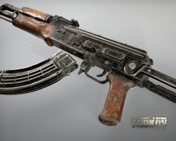 Escape from Tarkov AKM, AKMS, VPO-209, VPO-136 rifles plus AKMNS, AKMNSLP variants, and modding parts - 13