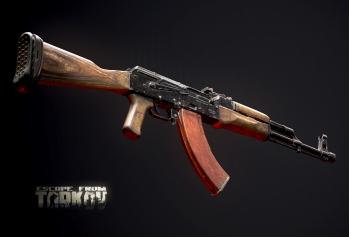 Escape from Tarkov AKM, AKMS, VPO-209, VPO-136 rifles plus AKMNS, AKMNSLP variants, and modding parts - 19