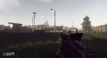 Escape from Tarkov EFT-Alpha Vicino all'ufficio a Customs 14