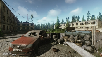 Escape from Tarkov EFT-Alpha - Customs chemical plant dorms - 1
