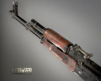 Escape from Tarkov AKM, AKMS, VPO-209, VPO-136 rifles plus AKMNS, AKMNSLP variants, and modding parts - 24