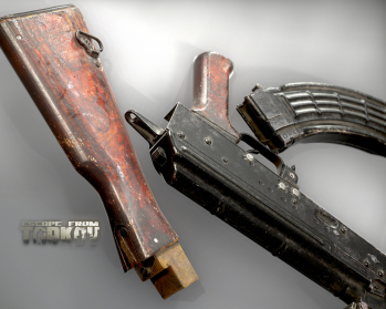 Escape from Tarkov AKM, AKMS, VPO-209, VPO-136 rifles plus AKMNS, AKMNSLP variants, and modding parts - 23