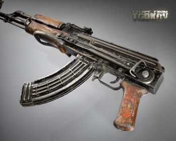 Escape from Tarkov AKM, AKMS, VPO-209, VPO-136 rifles plus AKMNS, AKMNSLP variants, and modding parts - 15