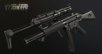 Escape from Tarkov Screenshot di un HK MP5 SMG e le sue varianti in Escape from Tarkov - 6