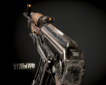 Escape from Tarkov AKM, AKMS, VPO-209, VPO-136 rifles plus AKMNS, AKMNSLP variants, and modding parts - 16