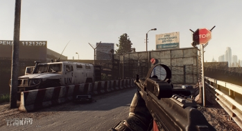 Escape from Tarkov EFT-Alpha Near the Сustoms office 9