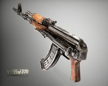 Escape from Tarkov AKM, AKMS, VPO-209, VPO-136 rifles plus AKMNS, AKMNSLP variants, and modding parts - 18