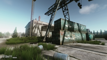 Escape from Tarkov EFT-Alpha - Customs chemical plant warehouses - 1
