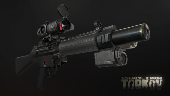 Escape from Tarkov Screenshots of HK MP5 SMG and its variants in Escape from Tarkov - 4