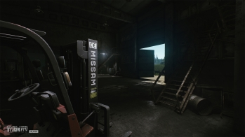 Escape from Tarkov EFT-Alpha - Customs repair shop - 2