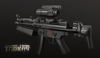 Escape from Tarkov Screenshots of HK MP5 SMG and its variants in Escape from Tarkov - 2