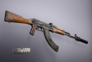 Escape from Tarkov AKM, AKMS, VPO-209, VPO-136 rifles plus AKMNS, AKMNSLP variants, and modding parts - 4