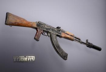 Escape from Tarkov AKM, AKMS, VPO-209, VPO-136 rifles plus AKMNS, AKMNSLP variants, and modding parts - 4