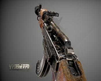 Escape from Tarkov AKM, AKMS, VPO-209, VPO-136 rifles plus AKMNS, AKMNSLP variants, and modding parts - 8
