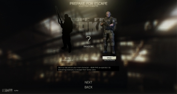 Escape from Tarkov EFT-Alpha Interface - Raid 1