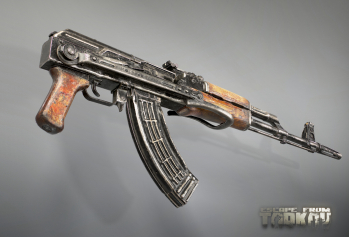 Escape from Tarkov AKM, AKMS, VPO-209, VPO-136 rifles plus AKMNS, AKMNSLP variants, and modding parts - 12