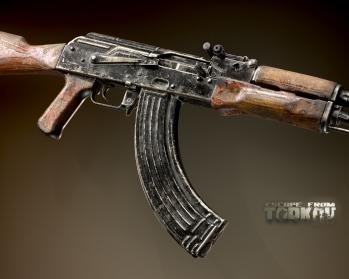 Escape from Tarkov AKM, AKMS, VPO-209, VPO-136 rifles plus AKMNS, AKMNSLP variants, and modding parts - 3