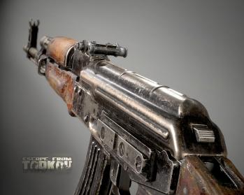Escape from Tarkov AKM, AKMS, VPO-209, VPO-136 rifles plus AKMNS, AKMNSLP variants, and modding parts - 6
