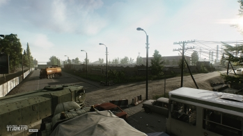Escape from Tarkov EFT-Alpha - Customs garage park - 1