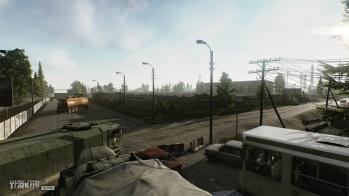 Escape from Tarkov EFT-Alpha - Customs garage park - 1