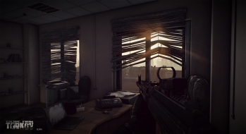 Escape from Tarkov EFT-Alpha Vicino all'ufficio a Customs 3