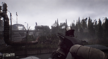 Escape from Tarkov EFT-Alpha Vicino all'ufficio a Customs 24
