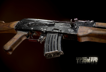 Escape from Tarkov AKM, AKMS, VPO-209, VPO-136 rifles plus AKMNS, AKMNSLP variants, and modding parts - 21
