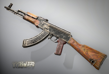 Escape from Tarkov AKM, AKMS, VPO-209, VPO-136 rifles plus AKMNS, AKMNSLP variants, and modding parts - 2