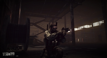 Escape from Tarkov EFT-Alpha Vicino all'ufficio a Customs 5