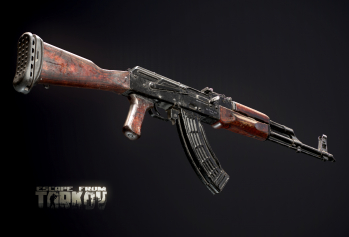 Escape from Tarkov AKM, AKMS, VPO-209, VPO-136 rifles plus AKMNS, AKMNSLP variants, and modding parts - 20