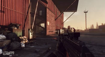 Escape from Tarkov EFT-Alpha Vicino all'ufficio a Customs 6