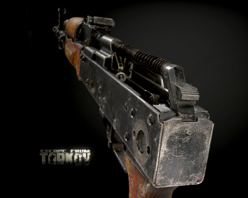 Escape from Tarkov AKM, AKMS, VPO-209, VPO-136 rifles plus AKMNS, AKMNSLP variants, and modding parts - 17