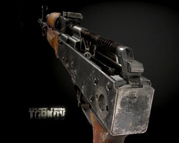 Escape from Tarkov AKM, AKMS, VPO-209, VPO-136 rifles plus AKMNS, AKMNSLP variants, and modding parts - 17