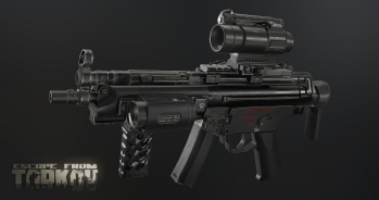 Escape from Tarkov Screenshot dell'HK MP5 SMG e sue varianti in Escape from Tarkov - 1