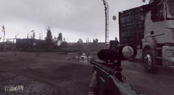 Escape from Tarkov EFT-Alpha Near the Сustoms office 2