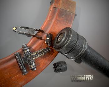 Escape from Tarkov AKM, AKMS, VPO-209, VPO-136 rifles plus AKMNS, AKMNSLP variants, and modding parts - 9