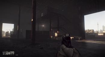 Escape from Tarkov EFT-Alpha Near the Сustoms office 13