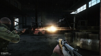 Escape from Tarkov Скриншоты игры за Диких 15