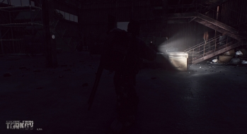 Escape from Tarkov EFT-Alpha Near the Сustoms office 21