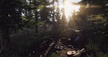 Escape from Tarkov EFT-Alpha - screenshot dello Scav Camp