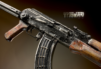 Escape from Tarkov AKM, AKMS, VPO-209, VPO-136 rifles plus AKMNS, AKMNSLP variants, and modding parts - 14