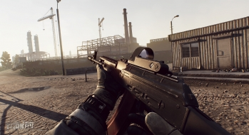 Escape from Tarkov EFT-Alpha Vicino all'ufficio a Customs 4