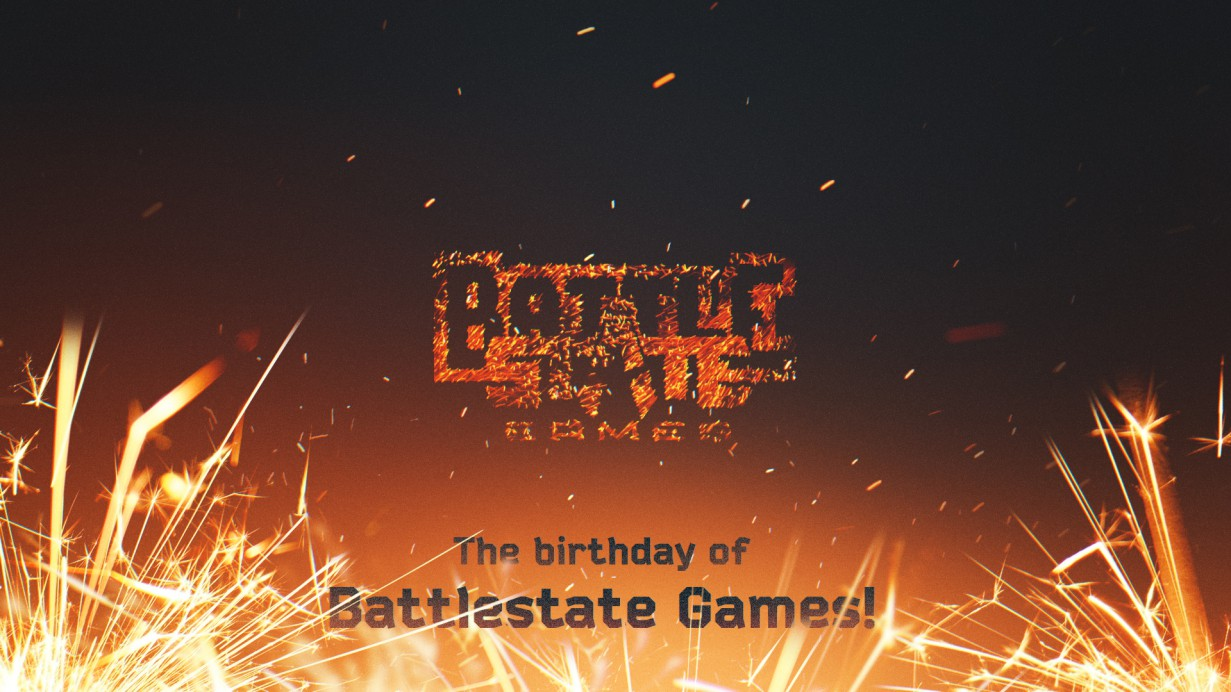 The birthday of Battlestate Games!