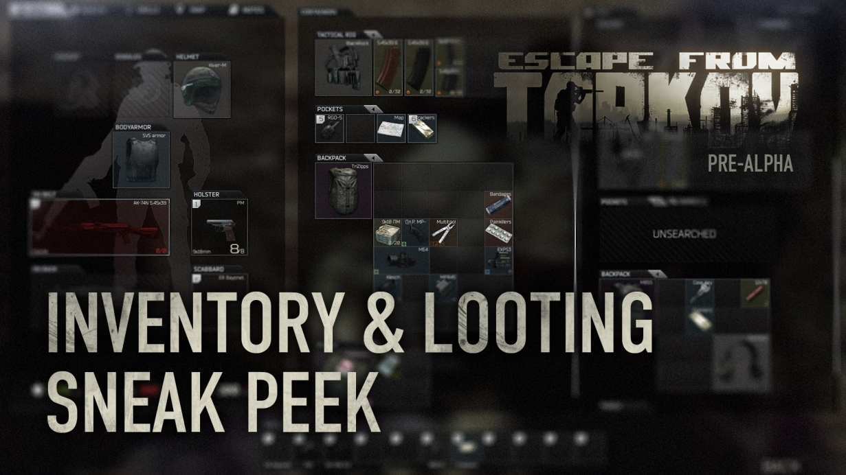 Inventory & Looting Sneak Peek