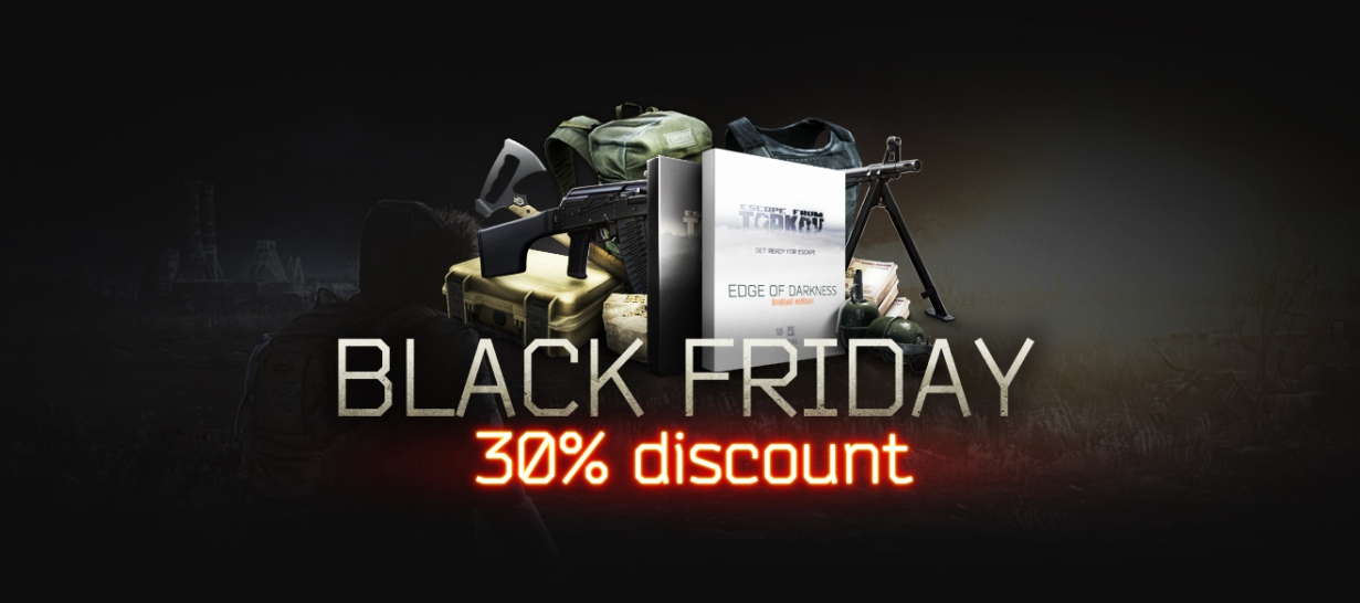 Black Friday: 30% discount on preorder packages!