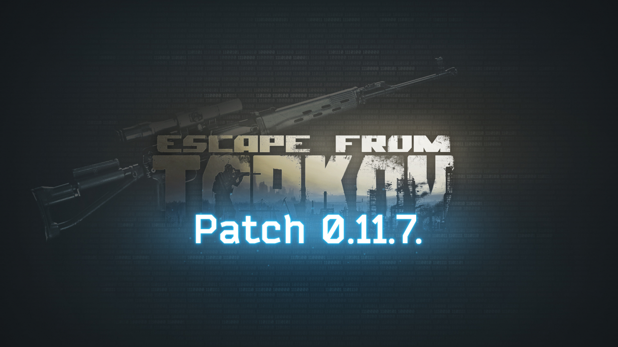 Technical update 0.11.7, SVDS and other new weapons and equipment, more than 100 new weapon attachments in Escape from Tarkov