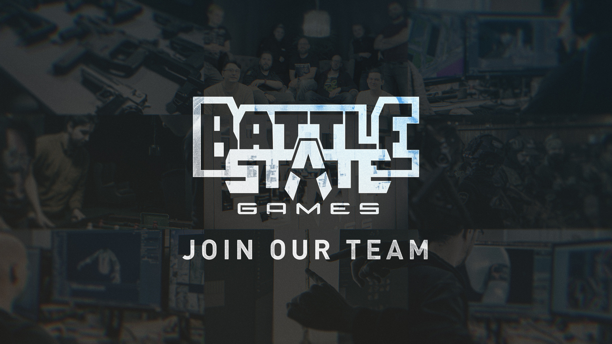 New Jobs at Battlestate Games
